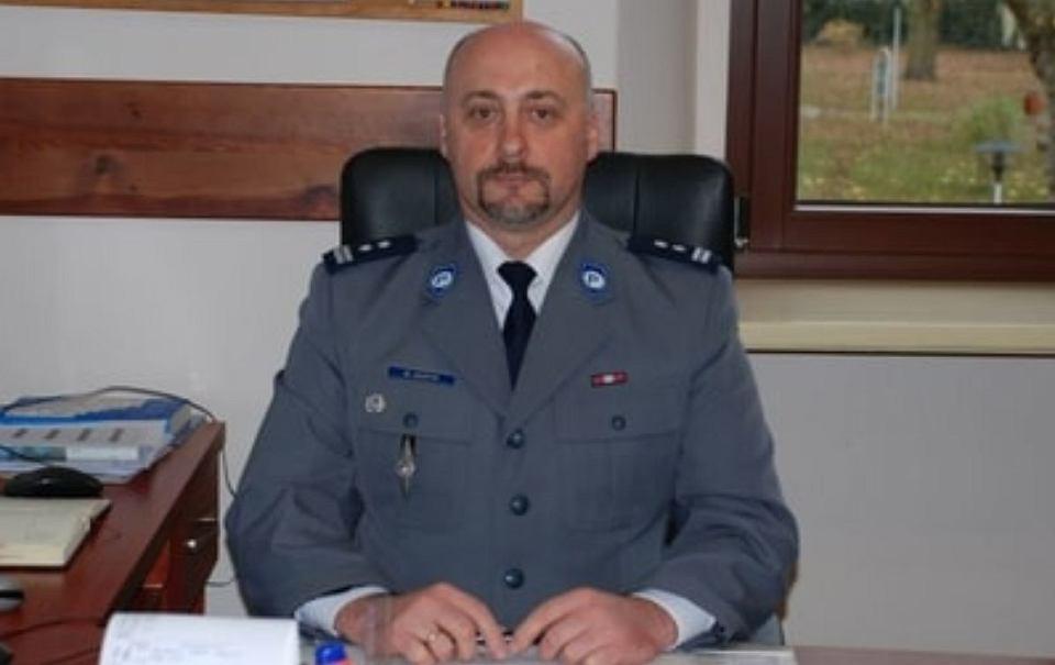 Mł. insp. Mariusz Haryk już nie jest komendantem policji w Wołowie