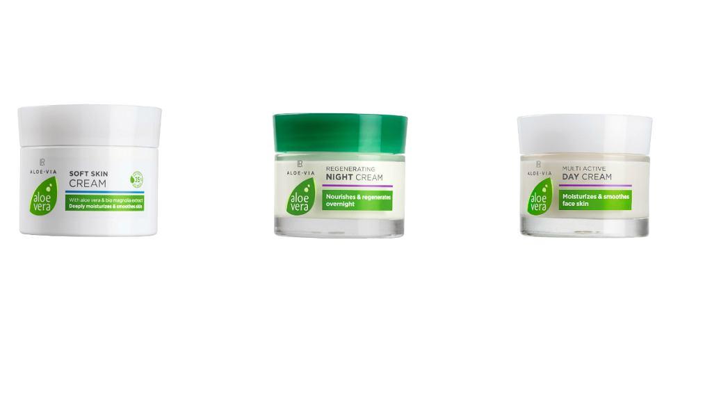 Regeneracji z linią kosmetyków LR Aloe Via