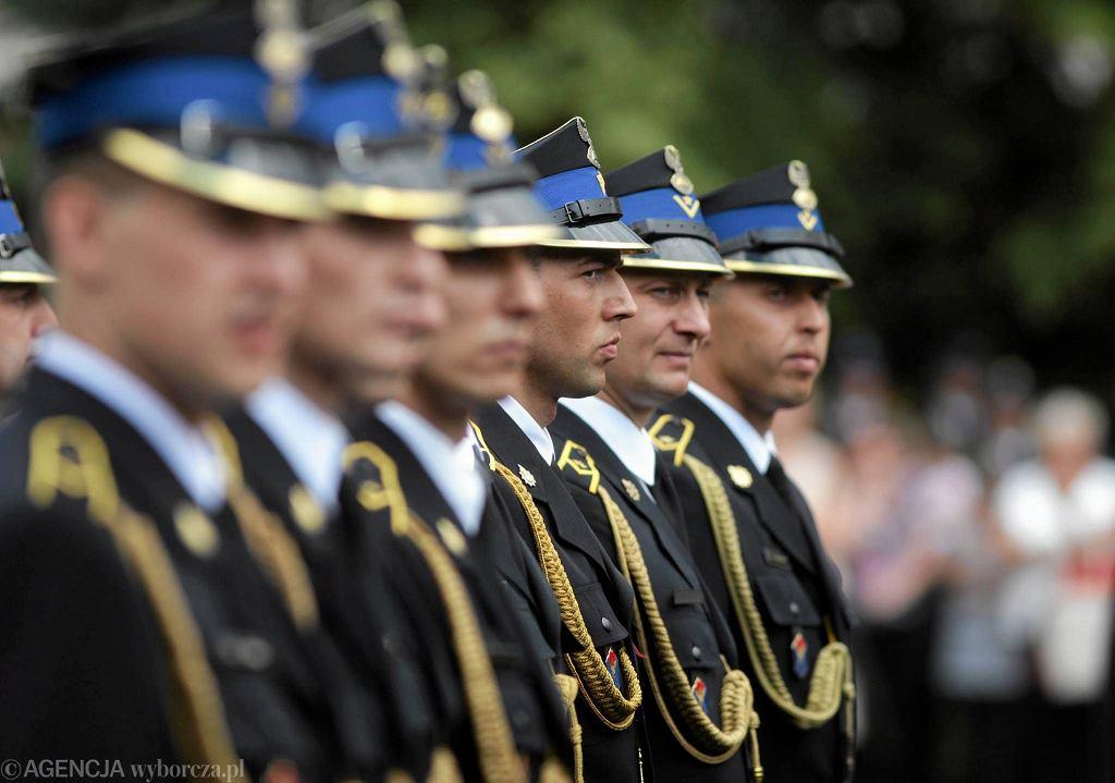 Częstochowa, Centralna Szkoła Państwowej Straży Pożarnej. Uroczysta promocja absolwentów