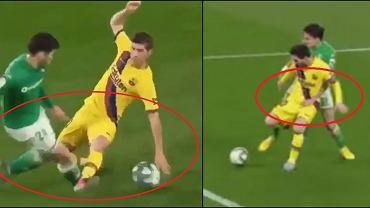 Duże kontrowersje w meczu Barcelony
