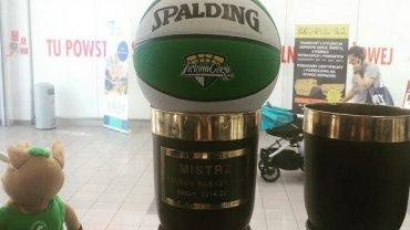 Piłka koszykarskiego Stelmetu
