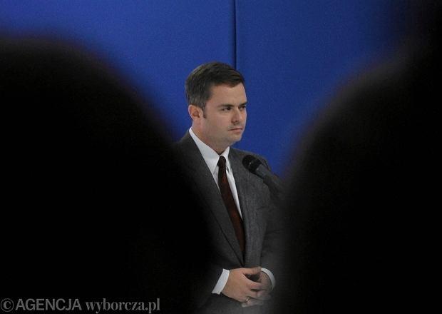 Konferencja prasowa prezesa Kaczyńskiego