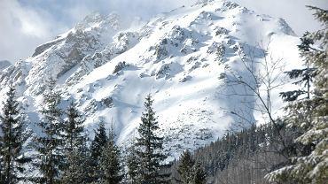 Pogoda. Tatry spowite mrozem. Temperatura odczuwalna nawet do -63 stopni