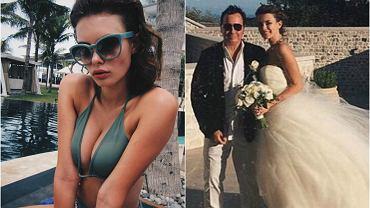 """Valentin Ivanov jest rosyjskim miliarderem i oligarchą i ma 55 lat, a Liza Adamenko 18-letnią modelką. Szokuje jednak nie tyle 37-letnia różnica wieku, ale to, że są razem od... 4 lat. Zaczęli się spotykać, kiedy ona miała 14 lat i rozpoczynała karierę modelki. Współżycie z nieletnią jest nielegalne i w Rosji, i Singapurze, gdzie mieszkają, dlatego swój związek utrzymywali w tajemnicy. Niedawno para wzięła nieprzyzwoicie drogi ślub w bajkowej scenerii Chateau Saint Jeannet na Lazurowym Wybrzeżu. Adamenko nie przejmuje się dość oczywistymi sugestiami, że poślubiła starszego mężczyznę dla jego majątku. """"Dlaczego młoda dziewczyna, która spotyka się ze starszym mężczyzną, od razu musi być dziwką? Jeżeli sądzicie, że wszystkie modelki są puszczalskie, zastanówcie się, co mówicie"""" - pisze na Instagramie pod zdjęciami ilustrującymi jej luksusowe życie."""