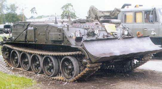 WZT 2 na podwoziu T 55