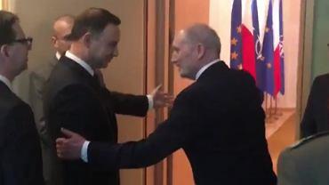 Spotkanie prezydenta z szefem MON