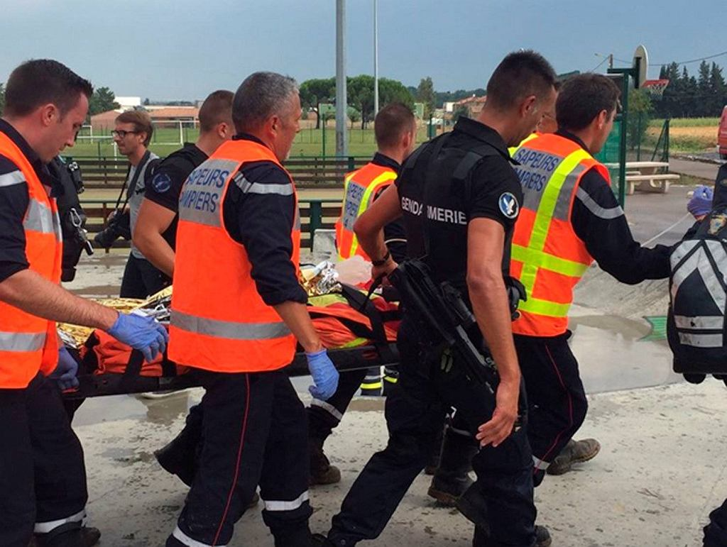 Katastrofa pociągu we Francji