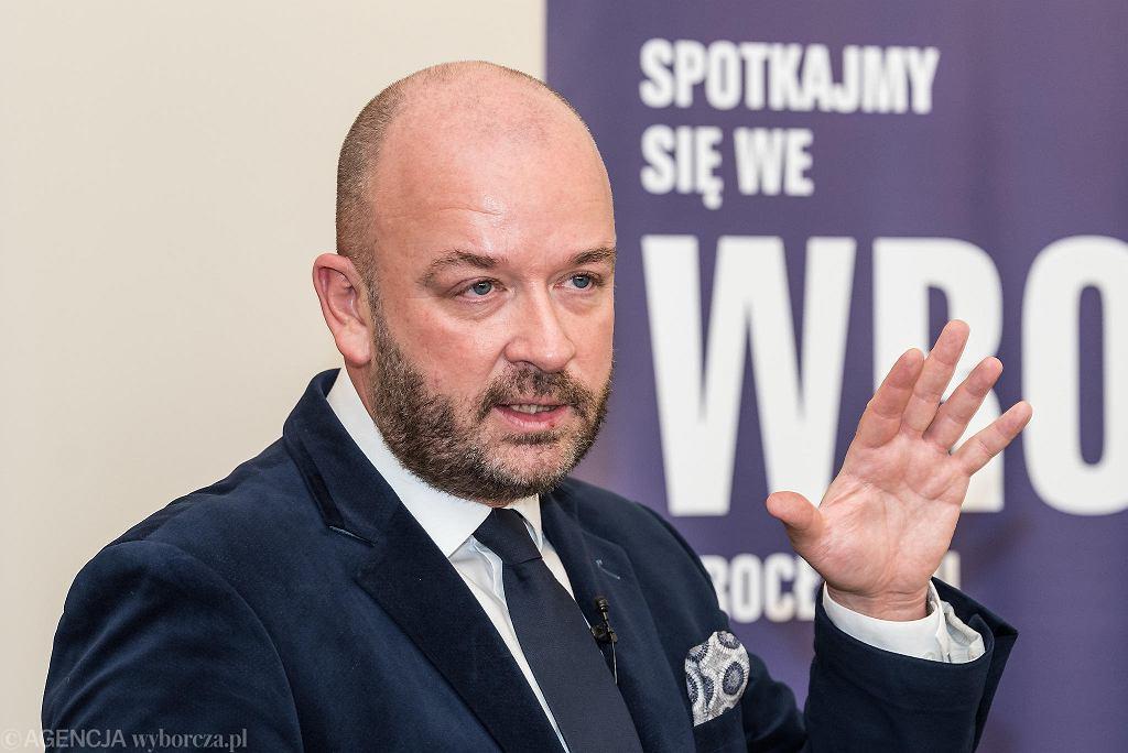 Wybory prezydenckie 2020. Jacek Sutryk popiera Rafała Trzaskowskiego
