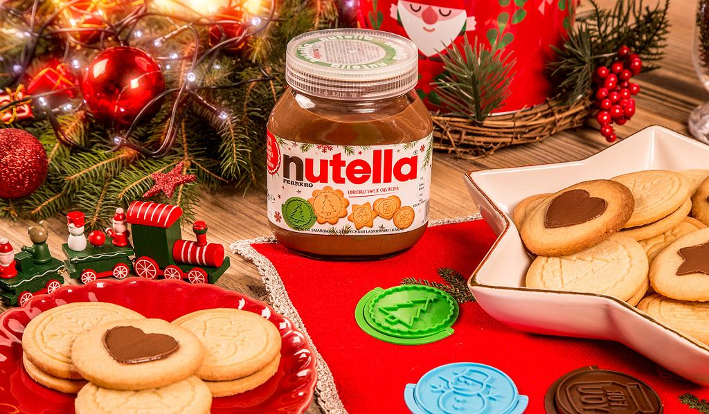 Nutella stempelki do ciastek