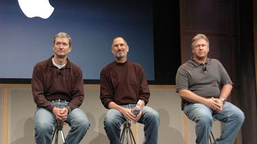 Tim Cook, Steve Jobs i Phil Schiller