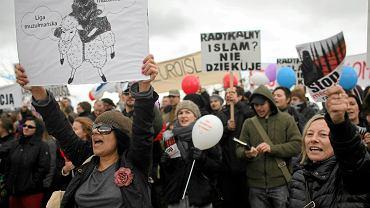 Manifestacja Warszawy