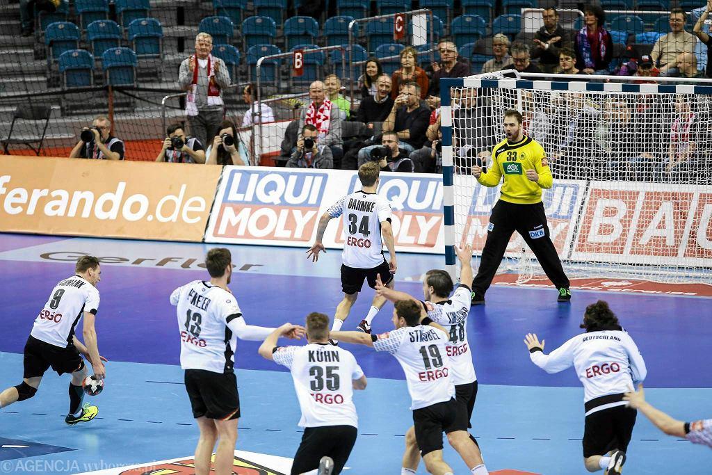 Norwegia - Niemcy 33:34. Radość Niemców