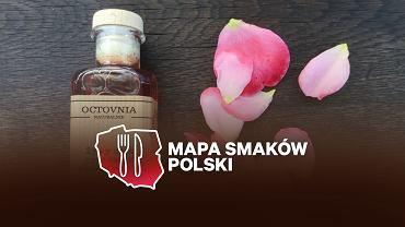 Pani Urszula produkuje m.in. ocet z płatkami róży, który można wykorzystywać również do pielęgnacji ciała