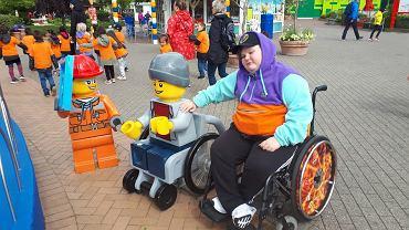 Łukasz Berezak w Legolandzie