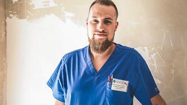 Kielce, 3 czerwca 2019 roku. Wojciech Chróściel, lekarz ginekolog ze Szpitala Kieleckiego