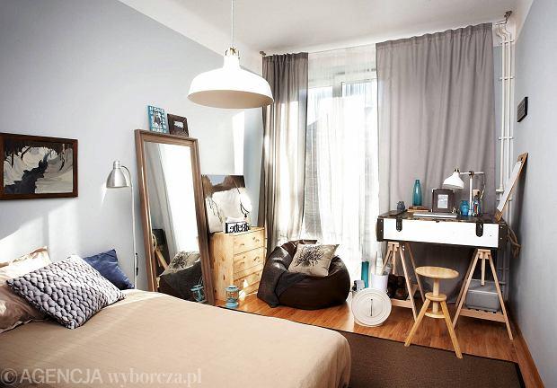 Metamorfoza sypialni: wizja artystki