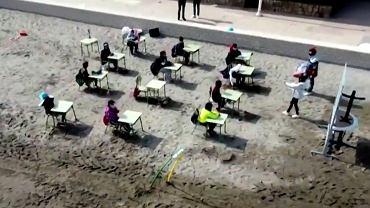 Lekcje w Hiszpanii odbywają się na zewnątrz