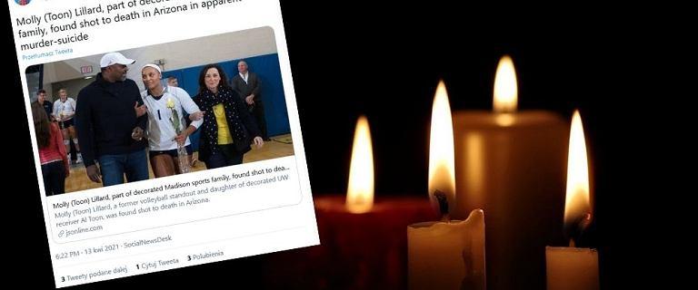 Nie żyje 28-letnia siatkarka. Zastrzelił ją mąż