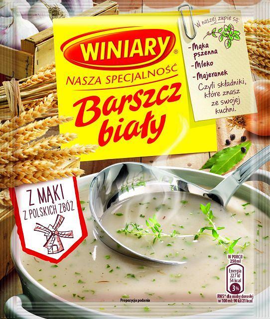 Winiary Zupa Nasza Specjalnosc - Barszcz bialy