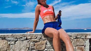 Anna Lewandowska trenuje z Robertem na wakacjach. Nawet na urlopie nie odpuszczają
