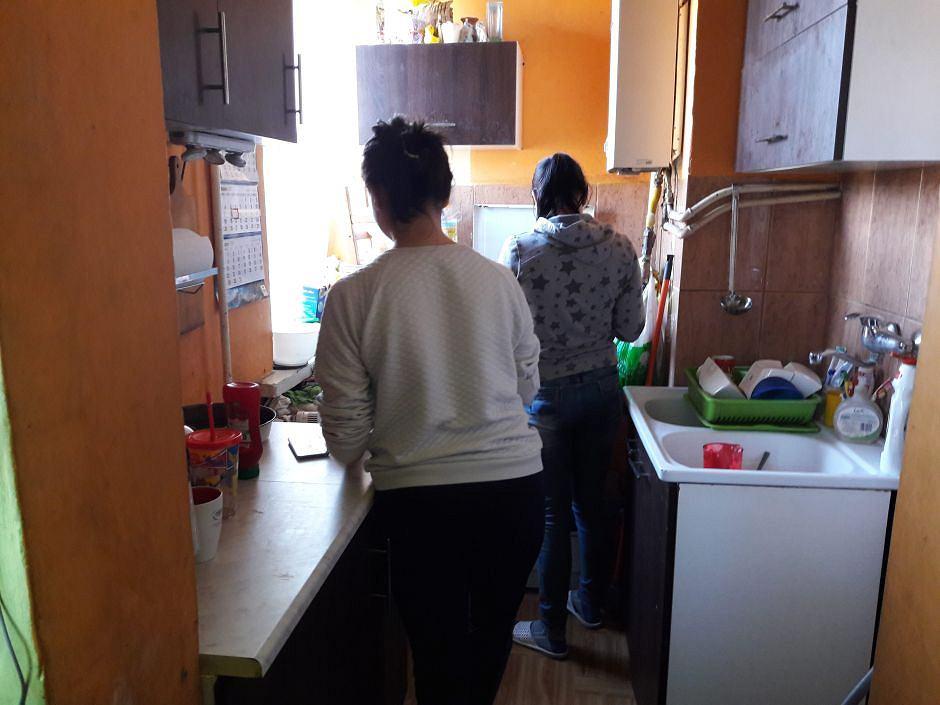 Mieszkanie rodziny pani Ani z Zamościa