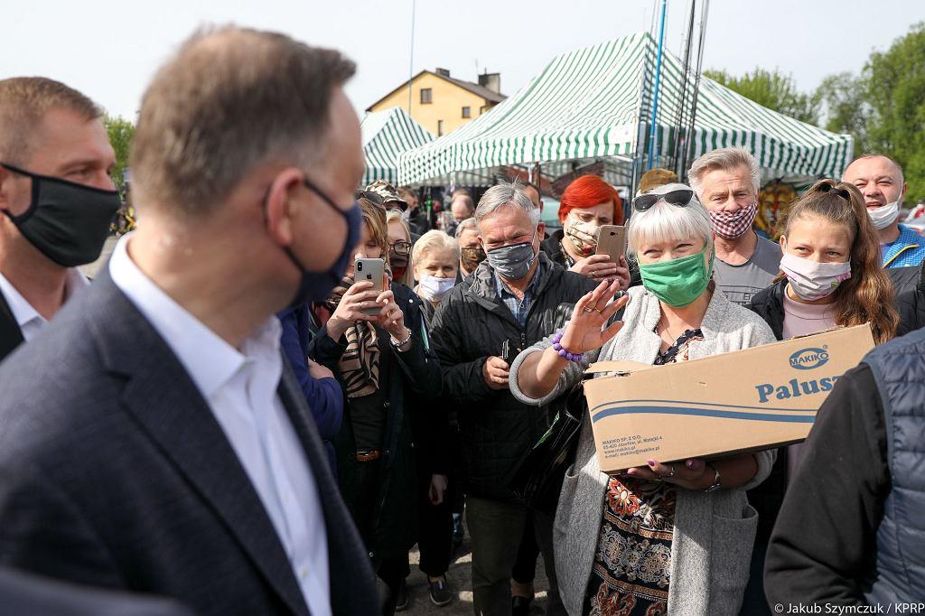 Prezydent Andrzej Duda w Garwolinie
