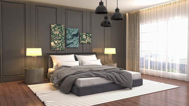 Panele podłogowe do sypialni. Praktyczne, wytrzymałe i eleganckie propozycje do nowoczesnych wnętrz
