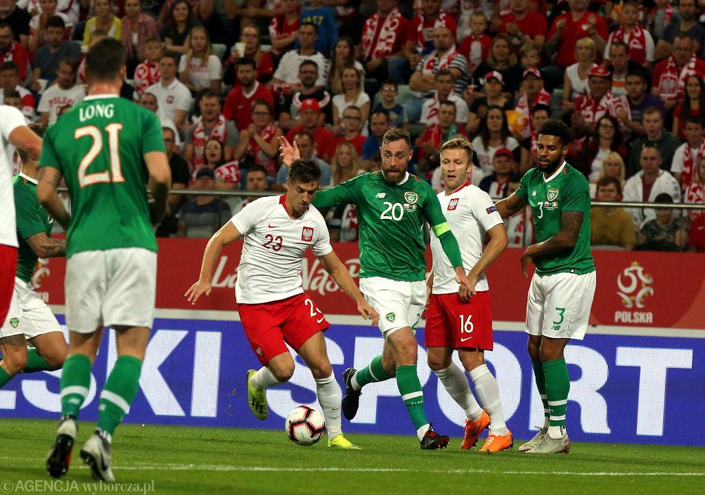 Mecz Polska - Irlandia na stadionie Miejskim we Wrocławiu, 11 września 2018