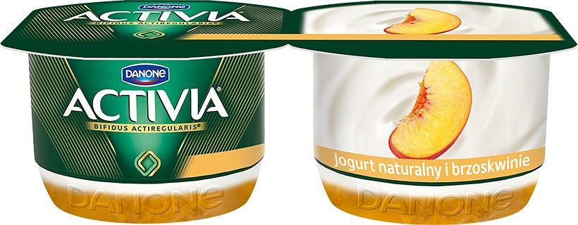 Activia - nowe logo