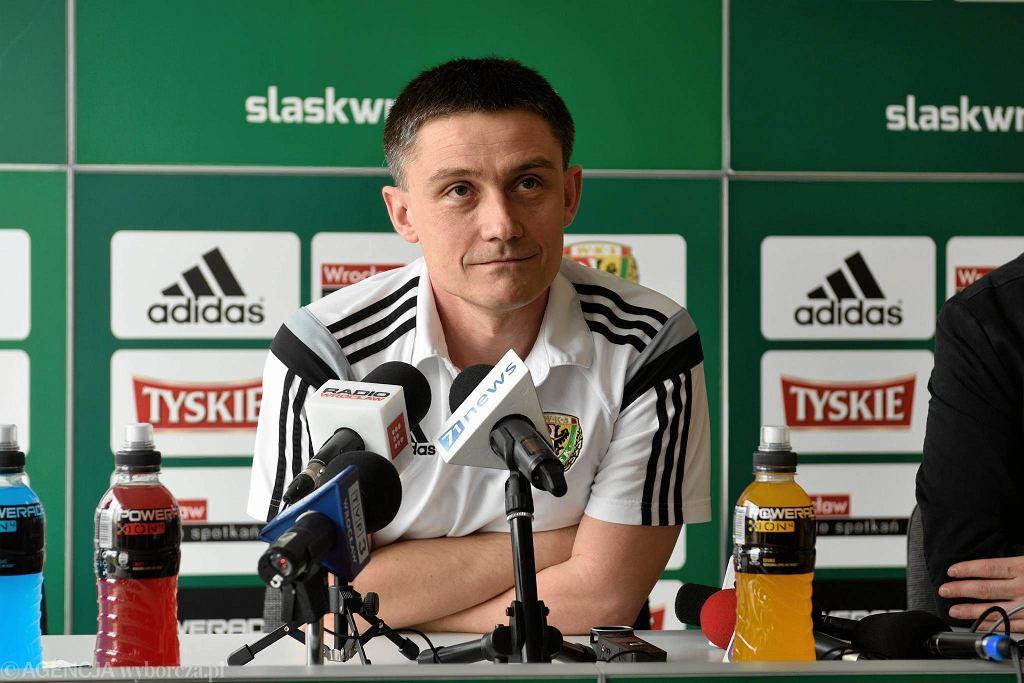 Trener Śląska Mariusz Rumak
