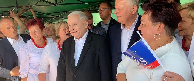 Jarosław Kaczyński na pikniku: Za 4 lata pewnie nie będę tu stał ja