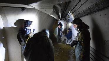 Wycieczka w schronie pod stocznią