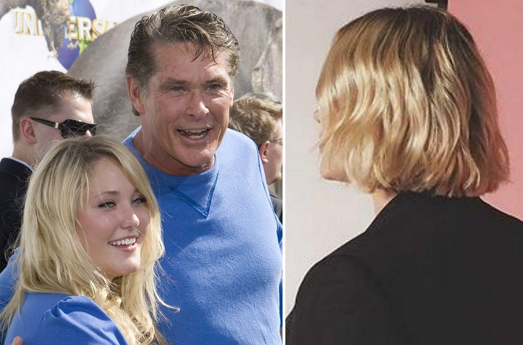 Hayley Hasselhoff i David Hasselhoff