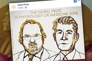 """""""Punkt zwrotny i nowy filar w walce z rakiem"""". Za co dwóch naukowców dostało w tym roku Nagrodę Nobla?"""