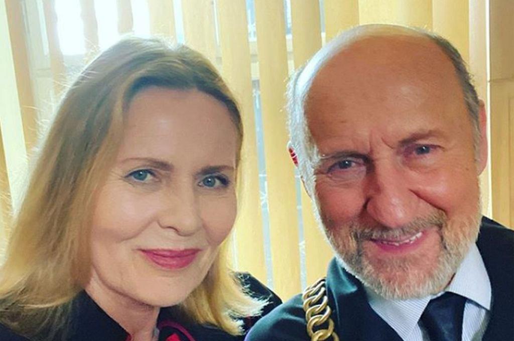 Szapołowska i Fronczewski spotkali się na planie po 20 latach przerwy