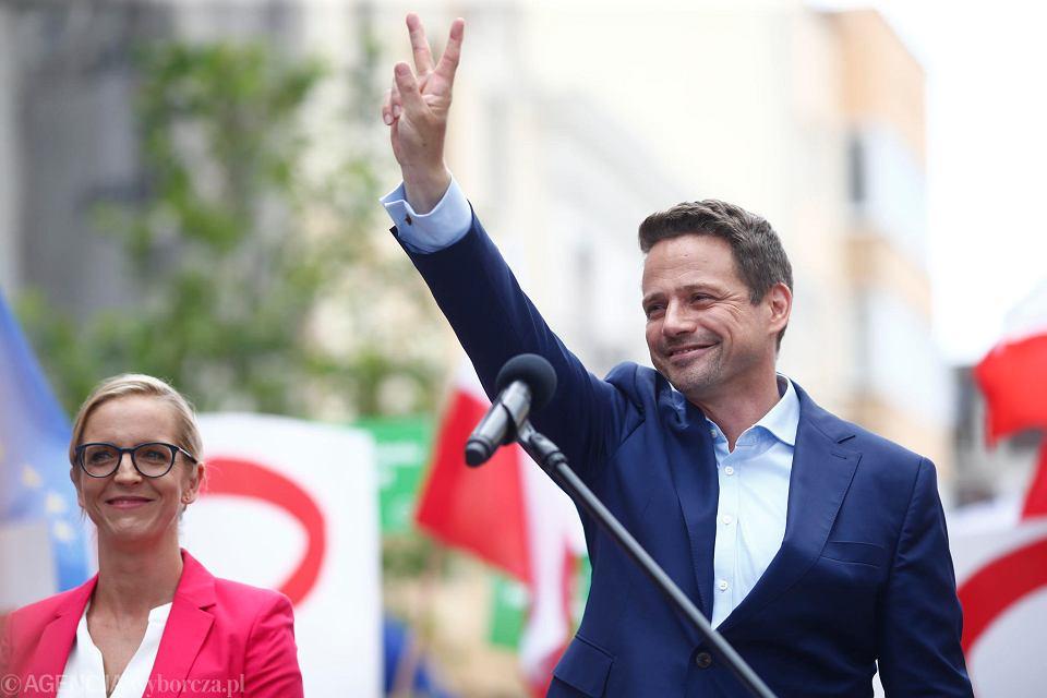 Wybory prezydenckie 2020. Rafał Trzaskowski z wizytą w Łodzi