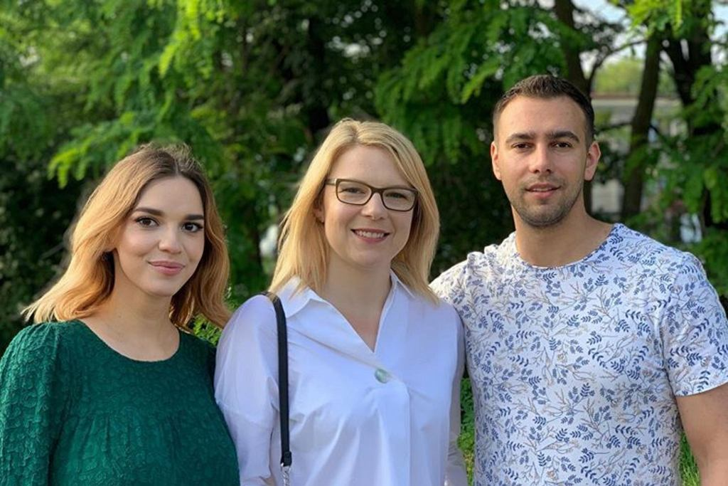 Oliwia, Łukasz i Asia