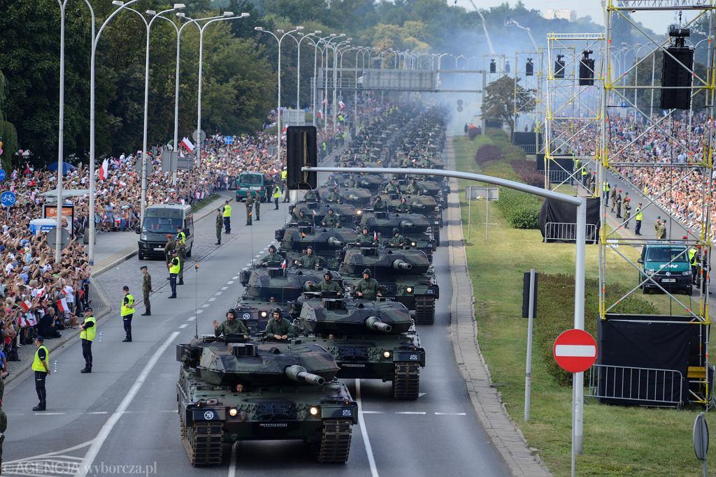 Defilada Wojska Polskiego odbędzie się 15 sierpnia w Katowicach