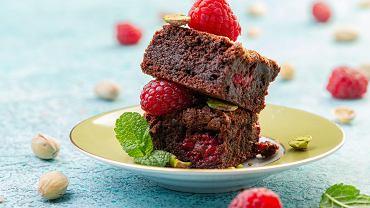 Czekoladowe ciasto-ciągutka