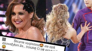 """W tej edycji """"Tańca z gwiazdami"""" nie mogliśmy już oglądać Agnieszki Kaczorowskiej, która zakończyła swoją przygodę z tanecznym show Polsatu. W piątek jednak tancerka sprawiła wszystkim fanom programu ogromną niespodziankę i gościnnie wystąpiła na parkiecie. Zobaczcie, jak teraz wygląda Agnieszka Kaczorowska."""
