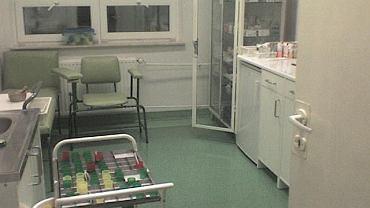 Wózek z lekami