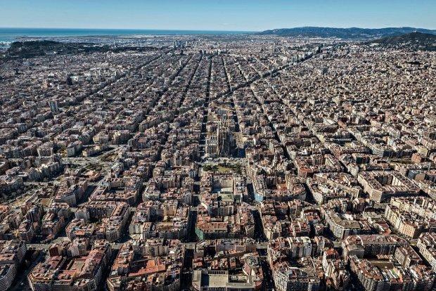 Dzielnica Eixample w Barcelonie