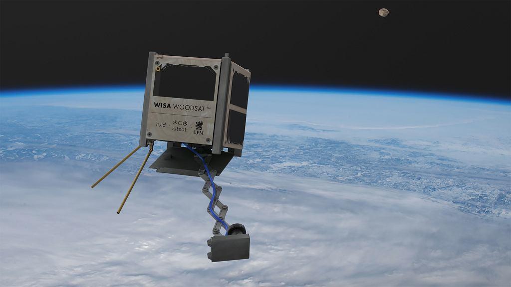 Pierwszy na świecie drewniany satelita