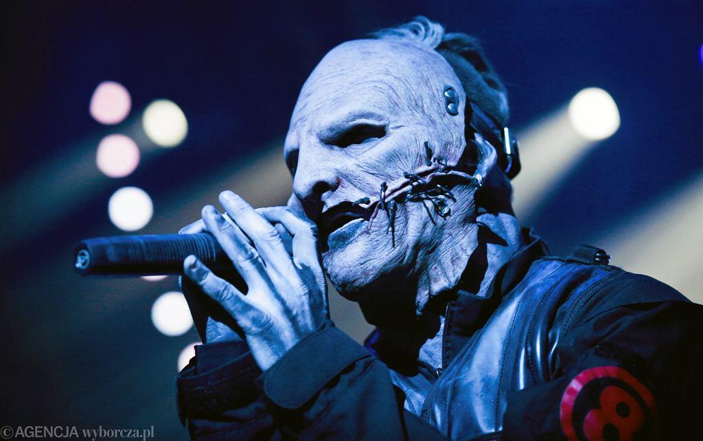 Grupa Slipknot na koncercie w Atlas Arenie w Łodzi (2015 rok)