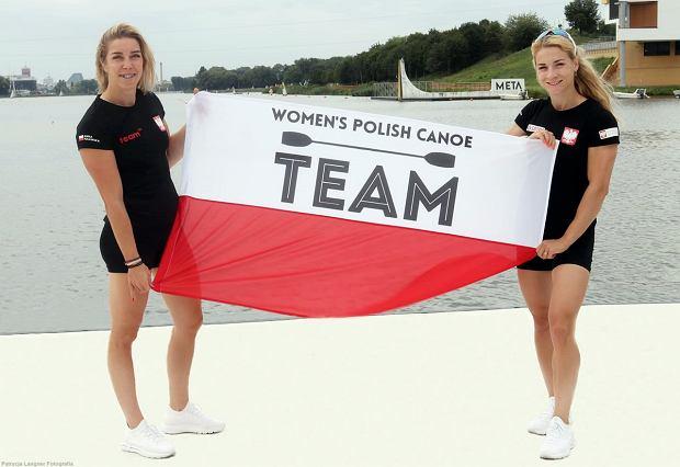 Karolina Naja (z prawej) i Anna Puławska, kajakarki AZS AWF Gorzów, wicemistrzynie świata seniorek w olimpijskiej konkurencji K2 na 500 m