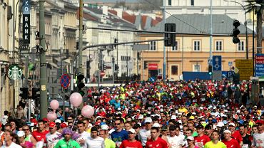 W biegu na 10 km wystąpiło 10 tysięcy osób. W maratonie ponad 7 tysięcy!