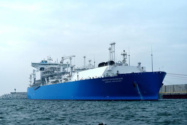 """Blamaż Gazpromu w Kaliningradzie. Strategiczny gazoport popłynął, by służyć jako """"spekulacyjny"""" magazyn gazu"""