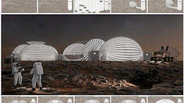 Projekt bazy na Marsie