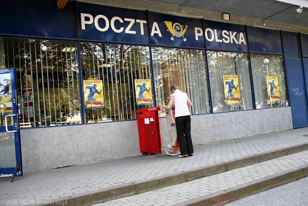 Poczta przy ul. Piłsudskiego