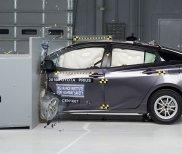 Toyota Prius test zderzeniowy